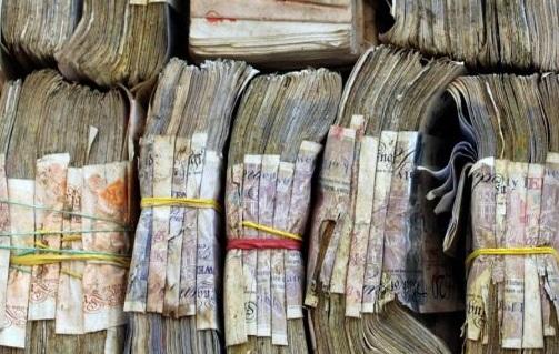 rotting money