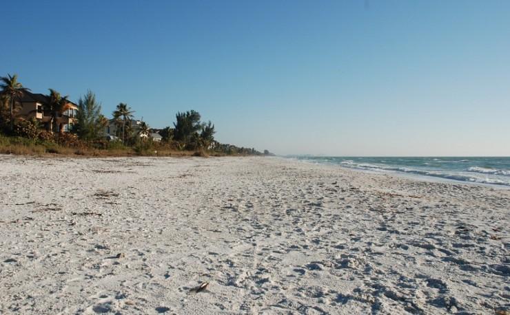 Auswandern Finanziell Unabhängig Bonita Beach Florida USA