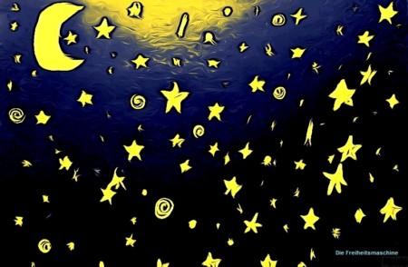 Mond und Sterne 2