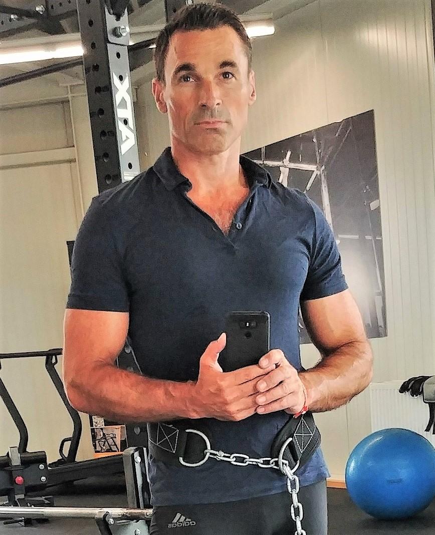 Maschinist Fitness Portrait 1202