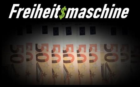 Die Freiheitsmaschine spendet 1000 Euro