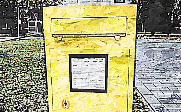 Postbote - Angehender Millionär - desillusioniert - Freiheitsmaschine