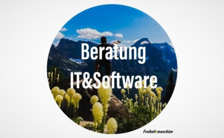 Beratung IT Software Freiheitsmaschine Coaching