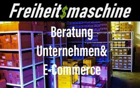 Beratung Unternehmen E-Commerce Freiheitsmaschine Coaching Consulting