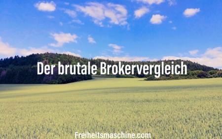 Brokervergleich Freiheitsmaschine Smartbroker Onvista DKB Abgeltungssteuer