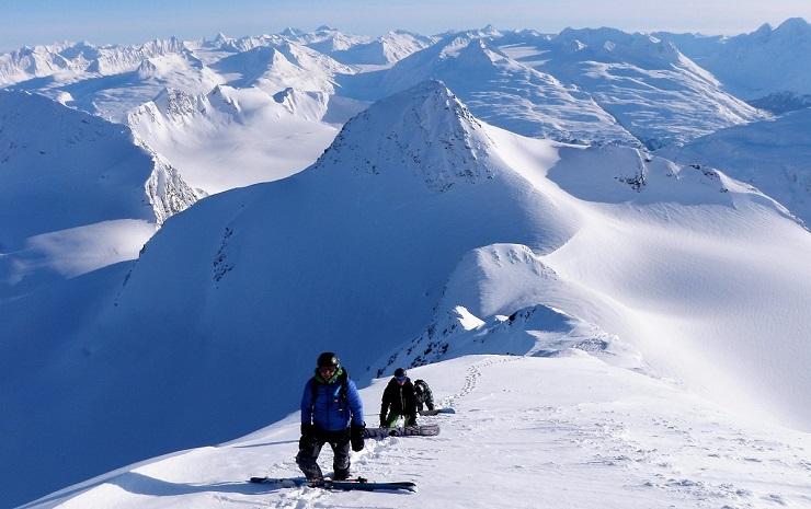 Skifahren Hochalpin