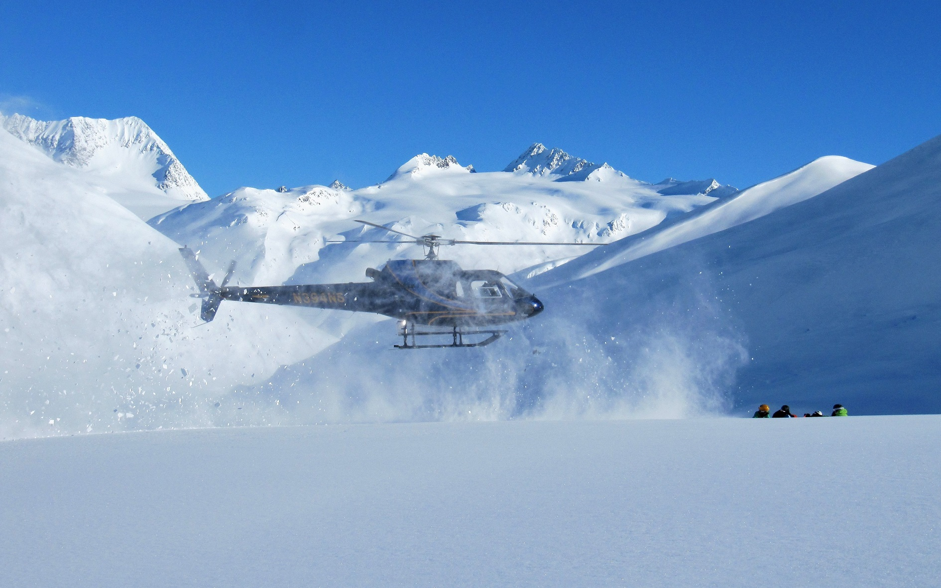 Helikopter Skifahren
