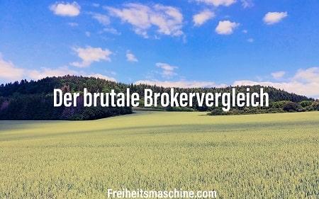 Brokervergleich Depotvergleich Bester Broker