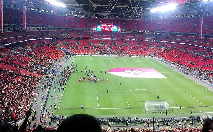 London Championsleague Fussball