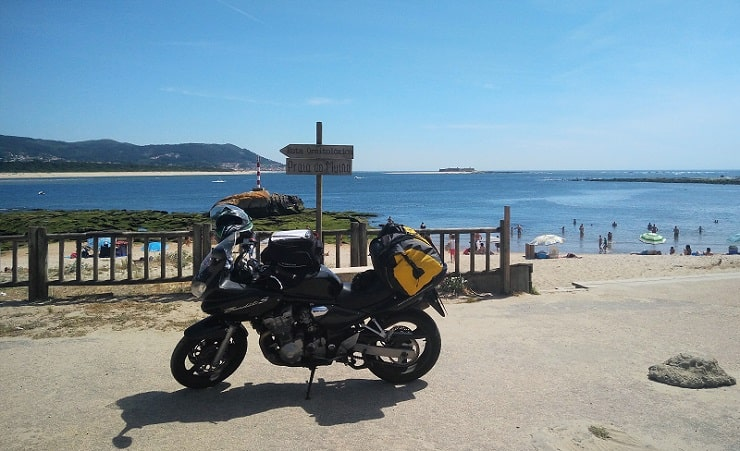 Motorradurlaub in Portugal mit Vermögen
