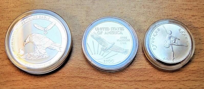 Physische Edelmetallanlage Silber AUS_Platin USA Palladium Russland