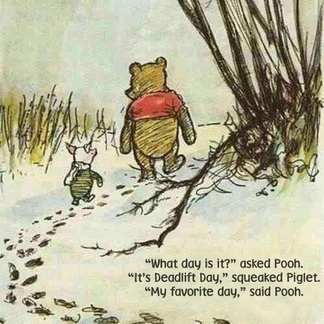 Pooh deadlift day best day