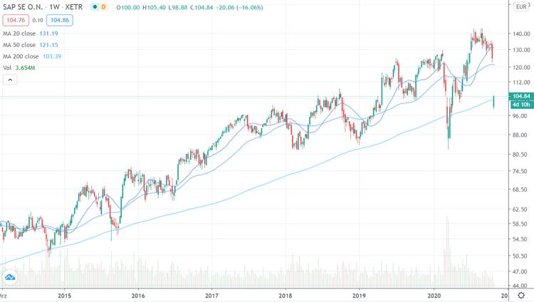 SAP Chart log 6 Jahre