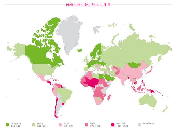 WeltRisikoBericht mit WeltRisikoIndex